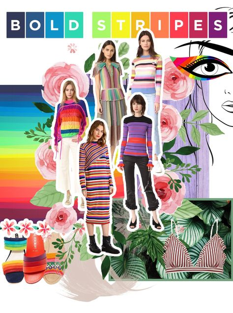 Fashion Mood Boards zu den 5 Top Modetrends 2017 (Who is Mocca?