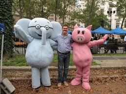 Also, here's some Elephant and Piggie in honor of our story time today of Happy Pig Day!