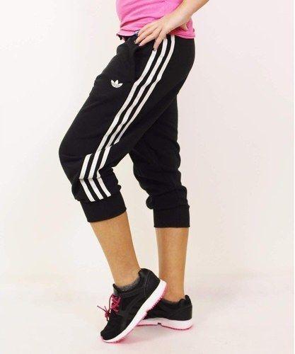 3/4 adidas pants womens