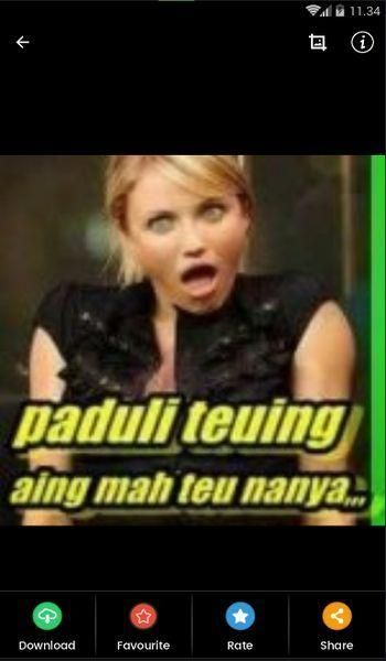 Gambar Lucu Bahasa Sunda For Android Apk Download Gambar Lucu Lucu Foto Lucu