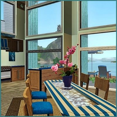 The Sims 3 Living Room For A Beach House