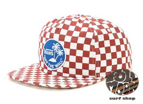 fc950c681c7 New Vans Van Doren Special Mens Checkered Snapback Cap Hat