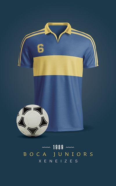 Boca Juniors - Camiseta 1996  ca42dcde8100a