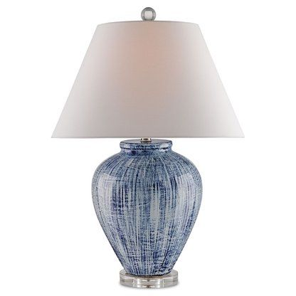 Table Lamps Perigold Blue And White Lamp Blue Ceramic Lamp White Lamp