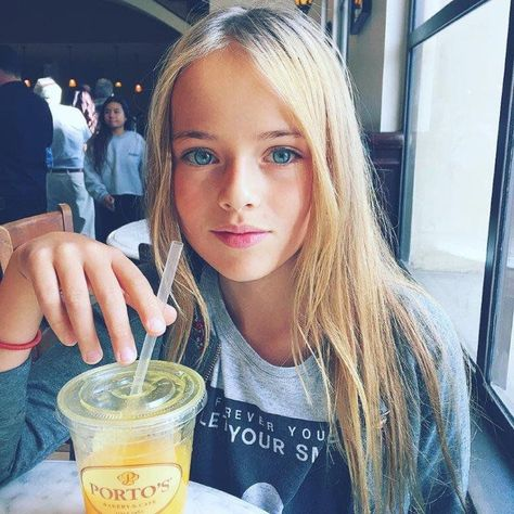 10 year old Kristina Pimenova, often referred to as 'the most beautiful girl in the world', has just landed a very lucrative modelling contract with LA Models.