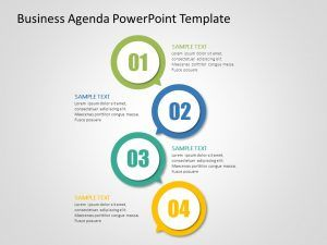 Use Agenda Powerpoint Template To Showcase Your Meeting Agenda For