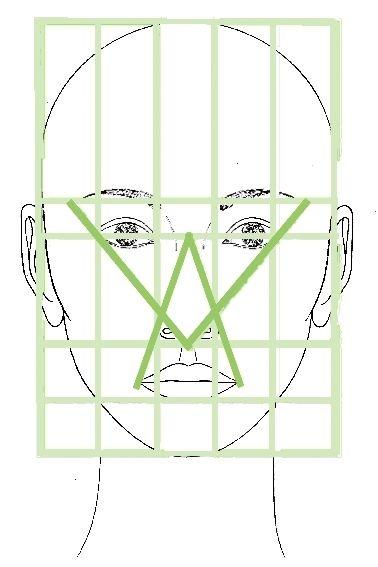 4 3 La Proporcion En El Rostro Proporciones Dibujo Arte Dibujos En Lapiz Tutoriales De Dibujo De Cara
