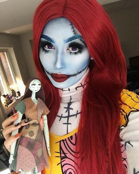 Christmas Halloween Costume Ideas.23 Best Halloween Makeup Ideas Sally Halloween Costume