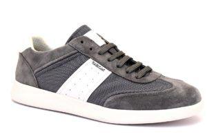 GEOX U926FA 02214 C0579 KENNET GRIGIO scarpe sneakers uomo