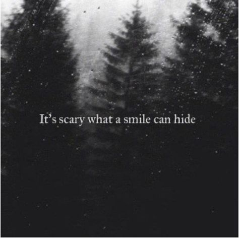 Depression: it's scary what a smile can hide.