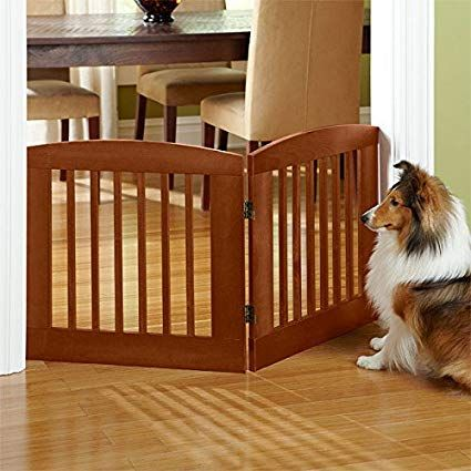 Orvis Panel Zig Zag Dog Gates 24 H Two Panel Gate Covers Up To A 3 Span Weighs 9 1 2 Lbs Cinnamon Review Dog Gate