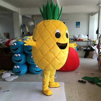 2019 Pineapple Mascot Costume Cosplay Adult Advertising Party Fancy Dress Outfit