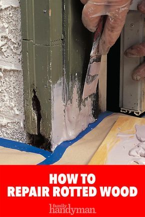 Woodworking Projects Unique How to Repair Rotted Wood.Woodworking Projects Unique How to Repair Rotted Wood Awesome Woodworking Ideas, Easy Woodworking Projects, Woodworking Workshop, Woodworking Techniques, Woodworking Plans, Woodworking Ideas Table, Woodworking Courses, Woodworking Beginner, Woodworking Furniture