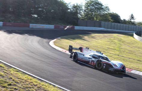 Porsche Breaks Fastest Nürburgring Lap Record With 919 Hybrid Evo Credit Handout