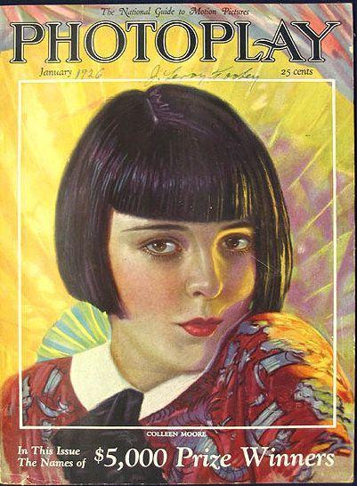 Vintage Movie Magazine Cover - January 1926