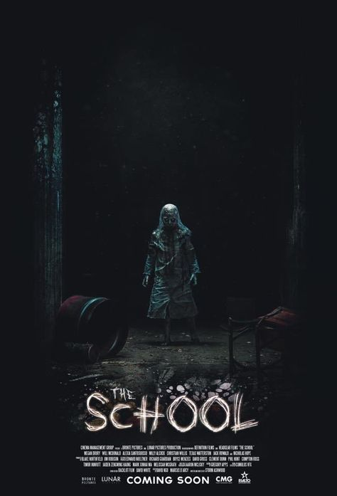 The School Film (2018) Horror | movies I want to see☆ | Horror