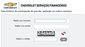 Emissao Boleto Chevrolet Fatura Do Cartao Carta