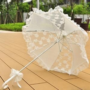 Lace Cotton Wedding Umbrella Umbrella Wedding Cotton Wedding Umbrella