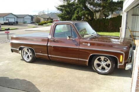 Any Brown Trucks Out There The 1947 Present Chevrolet Gmc Truck Message Board Network C10 Chevy Truck Chevy Trucks