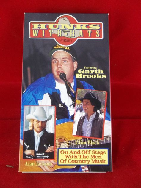 Hunks With Hats Featuring Garth Brooks 1992 Country Music Vhs In