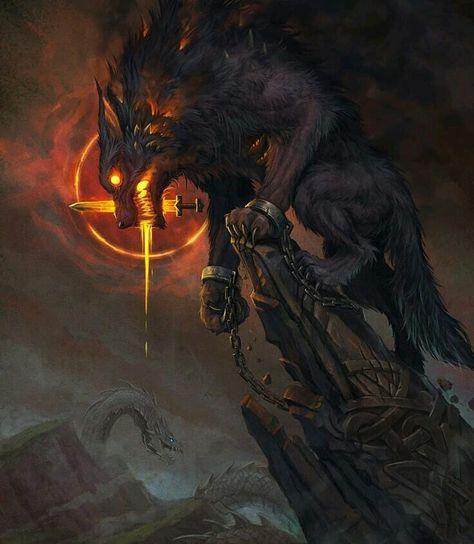 Fenrir the Wolf, Viking Mythology