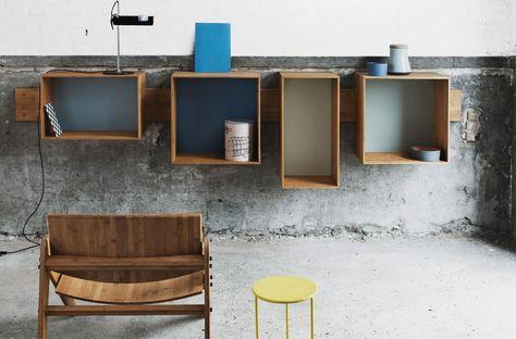 DIY Idea: Crate Shelf (Original: SJ Bookcase by We Do Wood)
