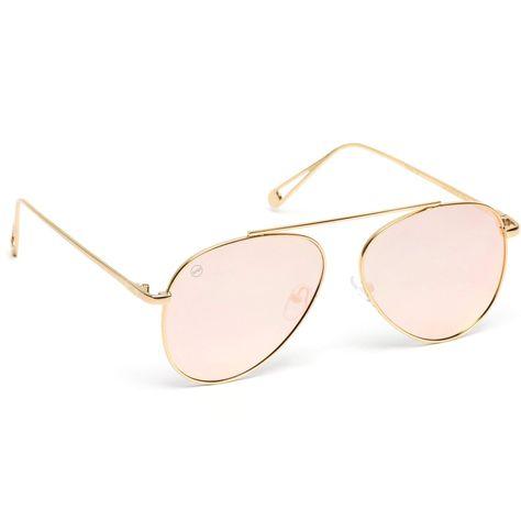 9ae97fbc61e Riley Bridgeless Aviator Sunglasses