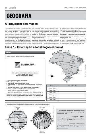 1a Jornaldoaluno Geografia Geografia Atividades De Geografia