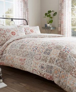 Bedding Sets Fleur Floral Poly Cotton Reversible Duvet Quilt Cover Sets
