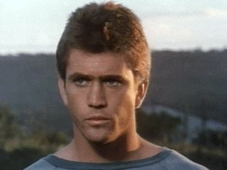 Mel Gibson in his first movie 'Summer City' 1977   Mel gibson, Mel gibson  young, Mad max mel gibson