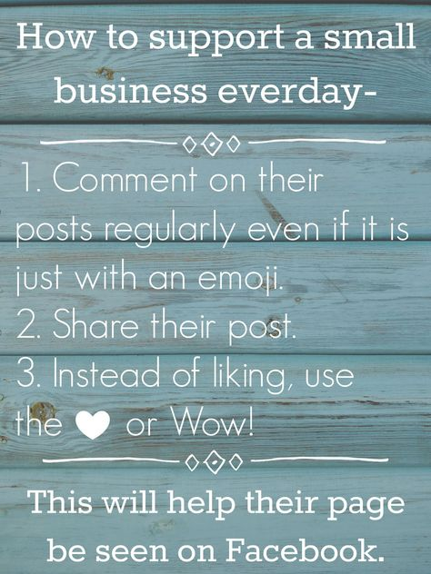 HOW TO SUPPORT SMALL BUSINESS - #support #athomebusiness #stayathomemom #mom #mompreneur #business #etsy #facebook #etsyshop #smallbusinesssaturday #diy