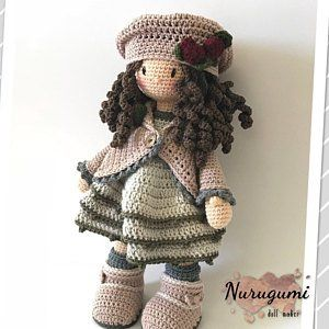 Crochet Pattern For Doll Ava Pdf Deutsch English Francais