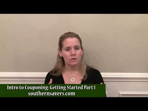 Basics of how to start couponing and save 50% on your grocery bill!