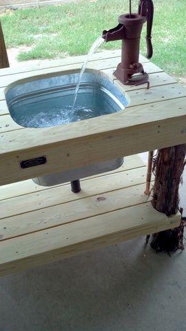 11 Interesting Garden Work Bench With Sink Photos Idea : Fabulous ...    Benches   Pinterest   Garden works, Sinks and Bench