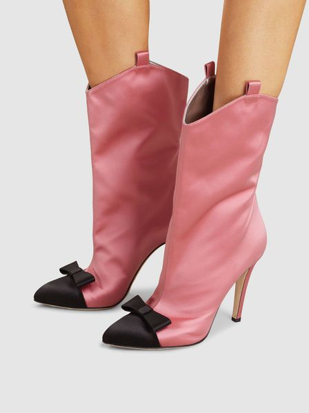 ALESSANDRA Pink Ankle Boots Shoes from