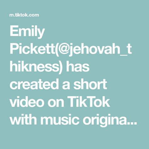 Emily Pickett(@jehovah_thikness) has created a short video on TikTok with music original sound. #amazon #amazonfinds #amazonmusthaves #amazonprime  #founditonamazon #amazonfavorites   #amazonfashion #amazonhaul #fyp #foryourpage #foryou