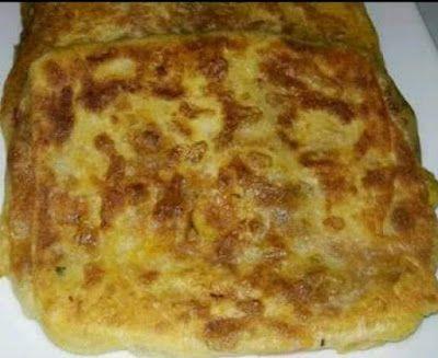 مسمن مغربي معمر بالكفتة والفلفل Food Cheese Pizza Cheese