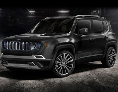 Check Out New Work On My Behance Portfolio Jeep Renegade 2019