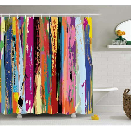 Home In 2020 Shower Curtain Art Fabric Shower Curtains