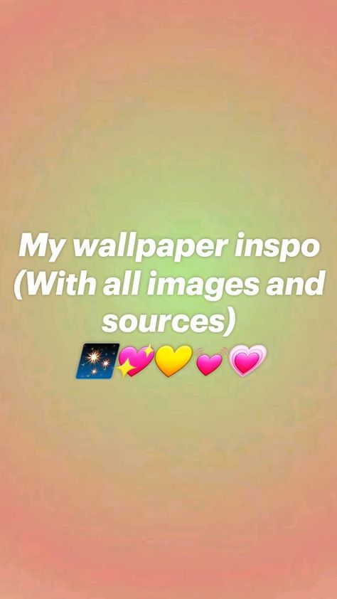 💫💖Aura Wallpaper inspo💖💫 (With all images and sources)