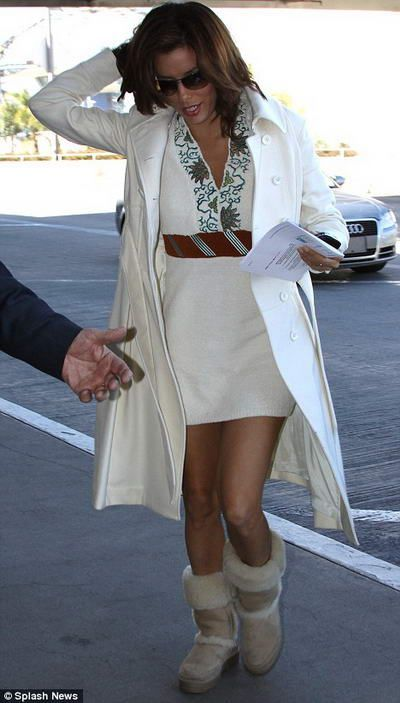 cute official store sneakers Gorgeous Eva Longoria in UGG boots summer...so Cali! photo ...