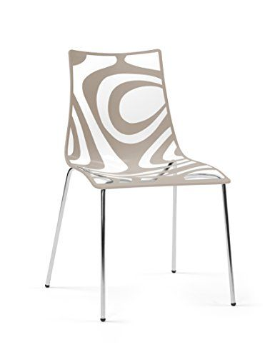 Parada One Design 2266 202 Wave Modern Stackable Dining Chair With