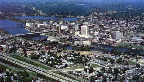 Cedar Rapids, IA - The 2nd largest city in Iowa - Land mass is 72.08 sq. miles.  A population of 128,000 in 2012.