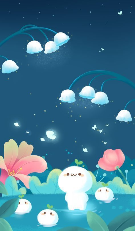 Pin On Cutest Thing Ever Iphone Wallpaper Kawaii Kawaii Wallpaper Cute Wallpapers