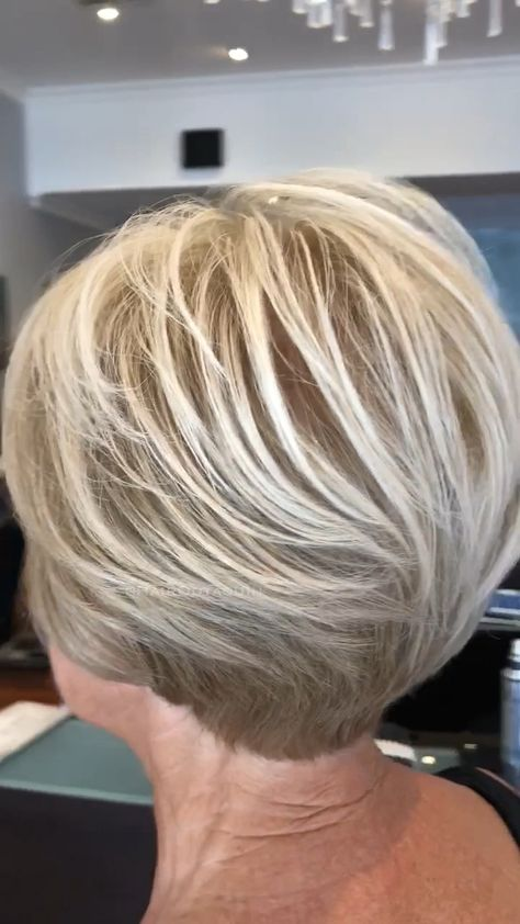 Short Blonde style ❤️