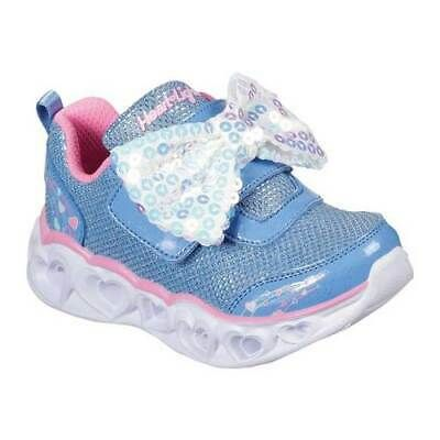 Advertisement(eBay) Skechers Infant Girls' S Lights Heart
