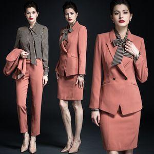 Ladies Popular Office Uniform Designs For Women Blazer Uniforms Office Uniform For Women Flight Attendant Uniform Fashion Uniform Design