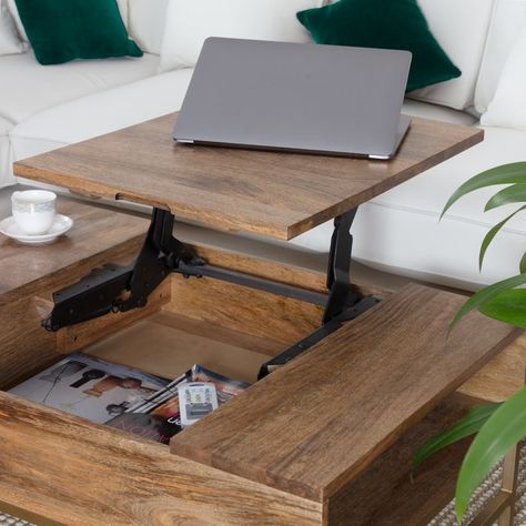 Kassidy Lift Top Coffee Table With Storage Living Room Inspo In