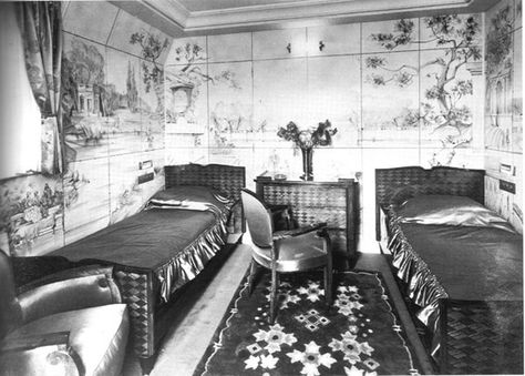 SS Normandie Interior   27.09: The SS Ile de France   New York Social Diary