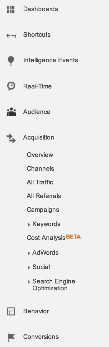 How to Use Google Analytics Acquisition Reports to Know Where People Are Coming From : Social Media Examiner
